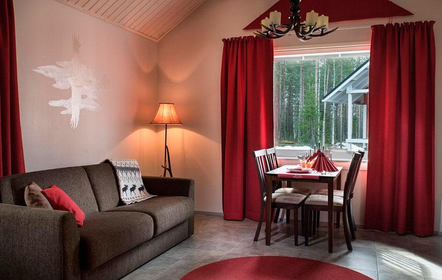 apartamento casa papa noel Laponia