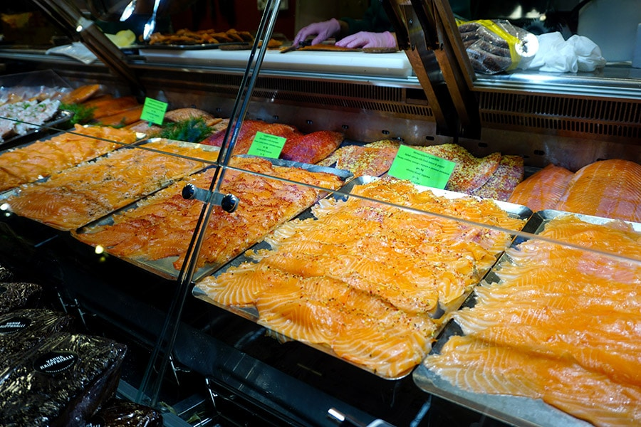 donde probar salmón en helsinki