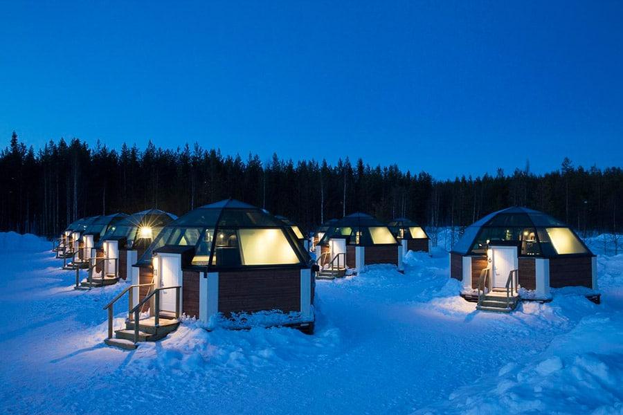 hotel iglu en Laponia