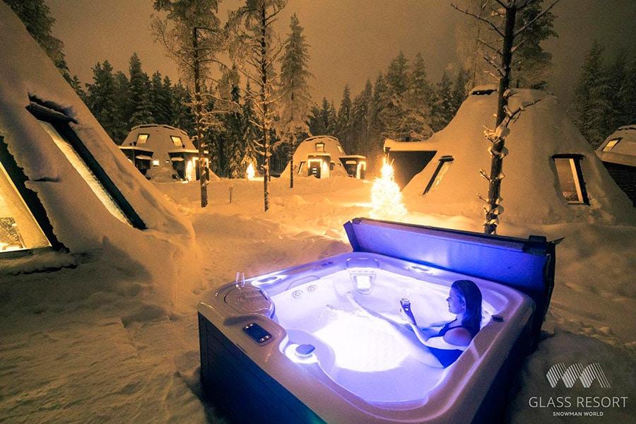 hotel iglu en Santa Claus Village