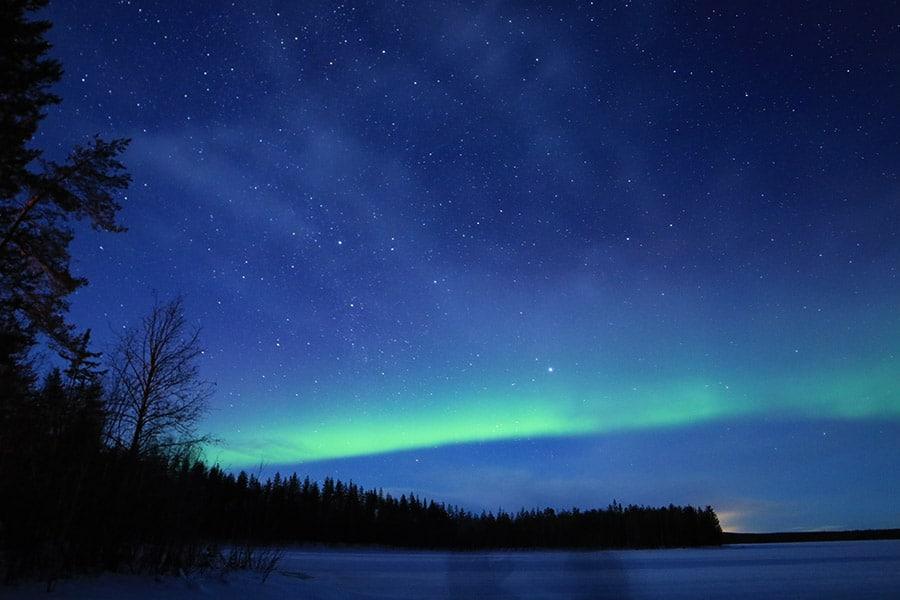 en que países se ven auroras boreales
