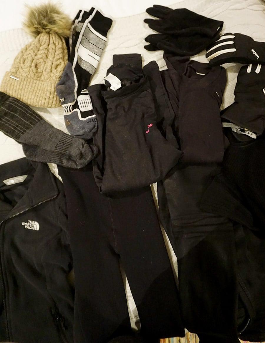 ropa Laponia en invierno