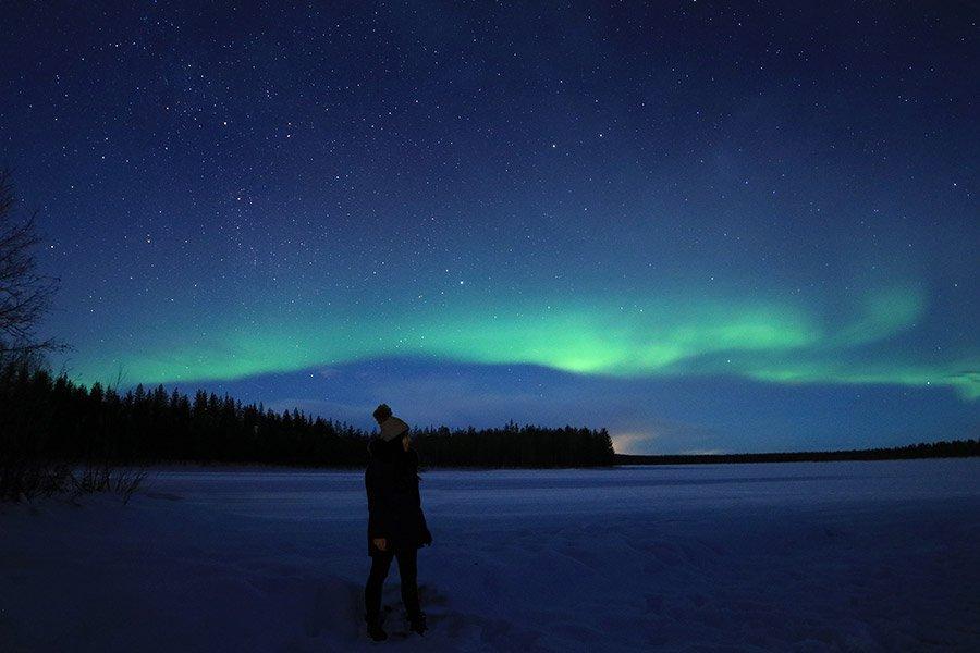 consejos para viajar a Laponia y ver aurora boreal