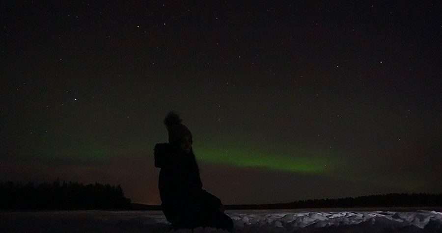 luces del norte finlandia