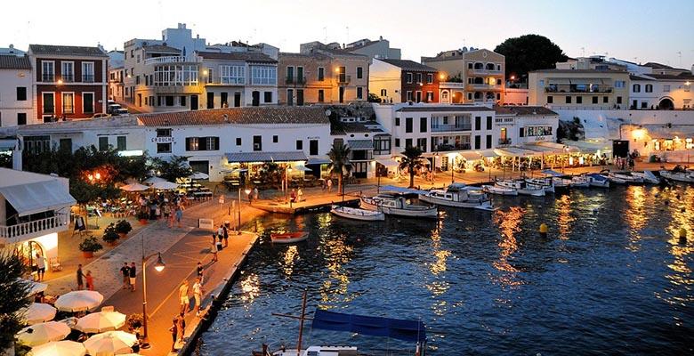 mejores zonas alojarse en Menorca