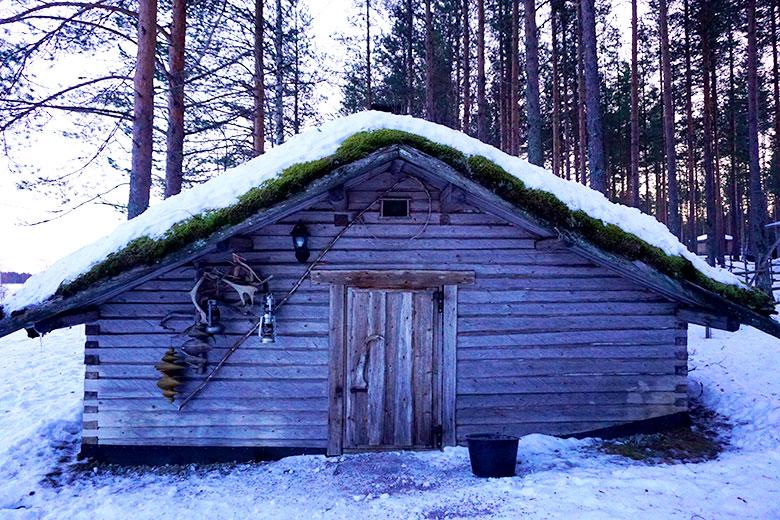 casi tipica sami Finlandia