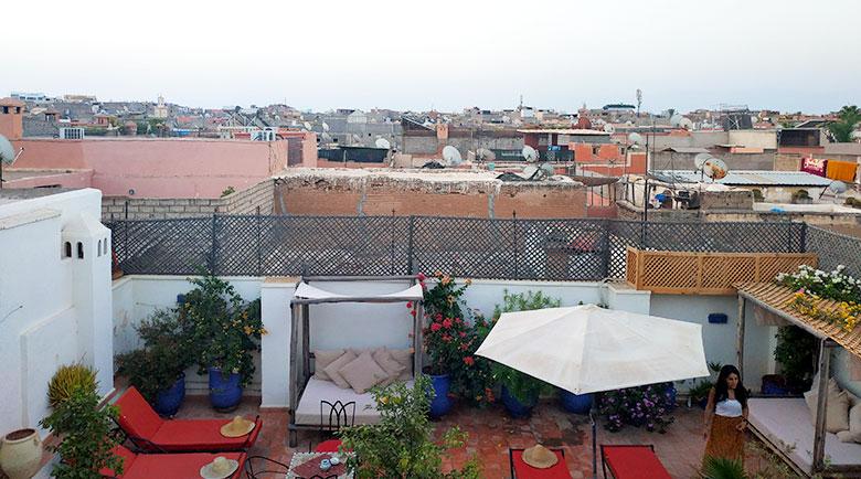 donde dormir en Marrakech