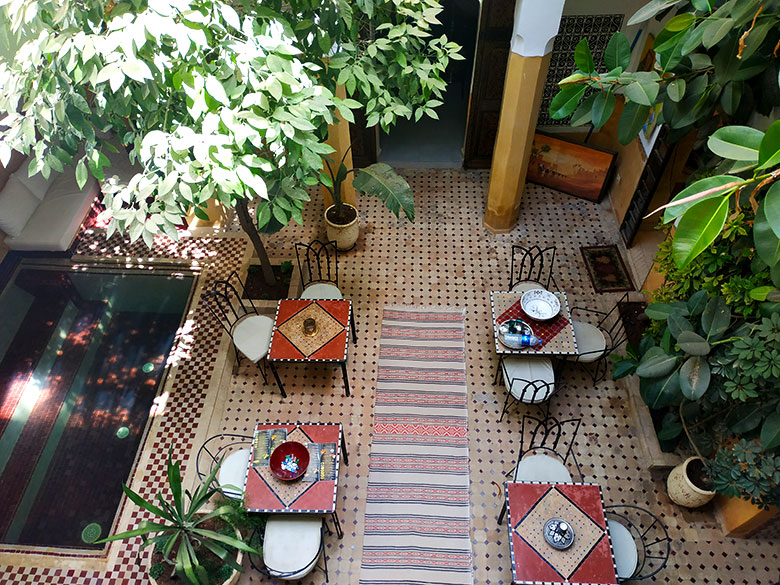 ¿Alojarse en riad o en hotel Marrakech?