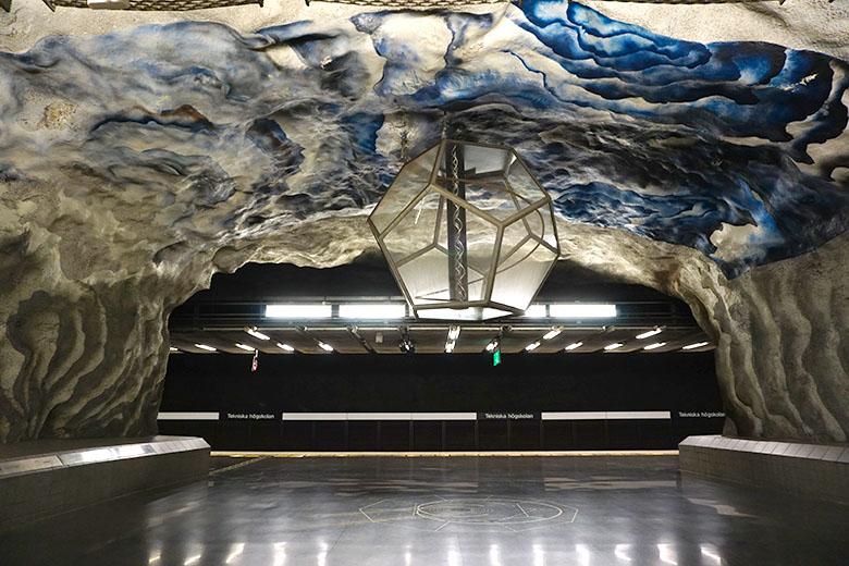 arte metro de Estocolmo