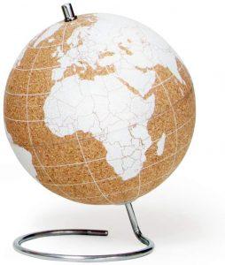 bola del mundo de corcho