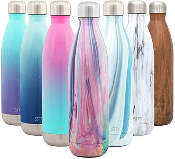 botella reutilizable acero