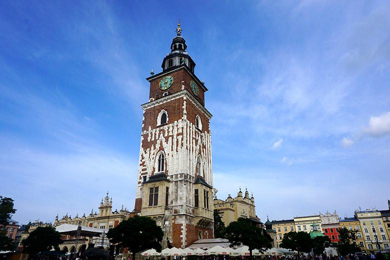 Torre del Ayuntamiento Cracovia