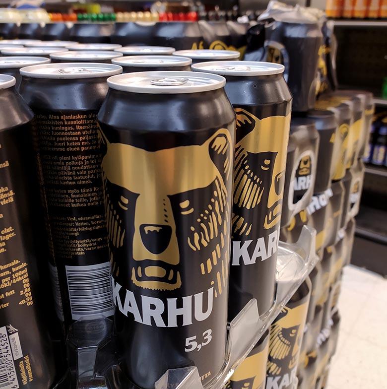 Alcohol en Finlandia
