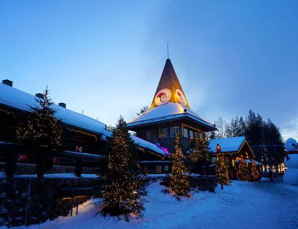 casa de Papá Noel en Rovaniemi