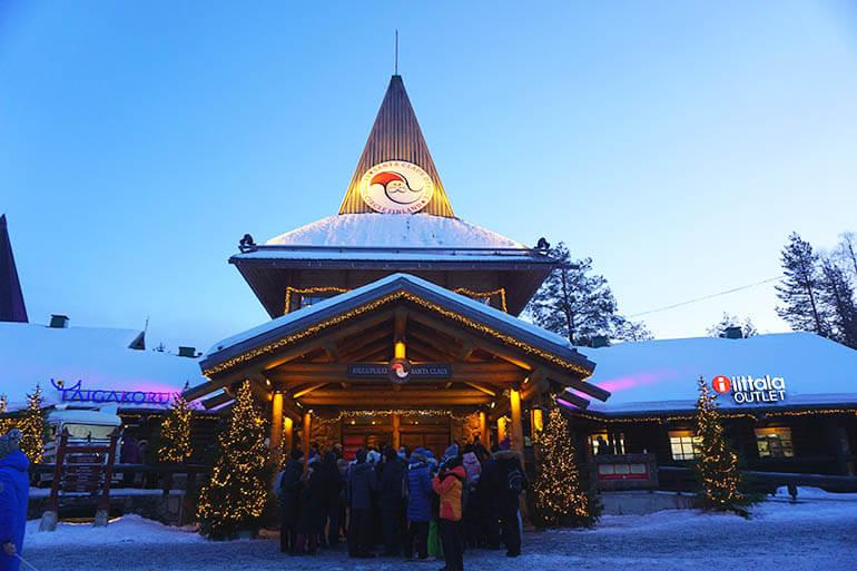 visitar la Casa de Papá Noel Rovaniemi