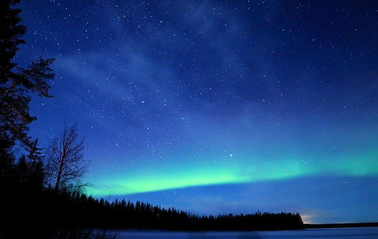 cuándo viajar a Laponia finlandesa