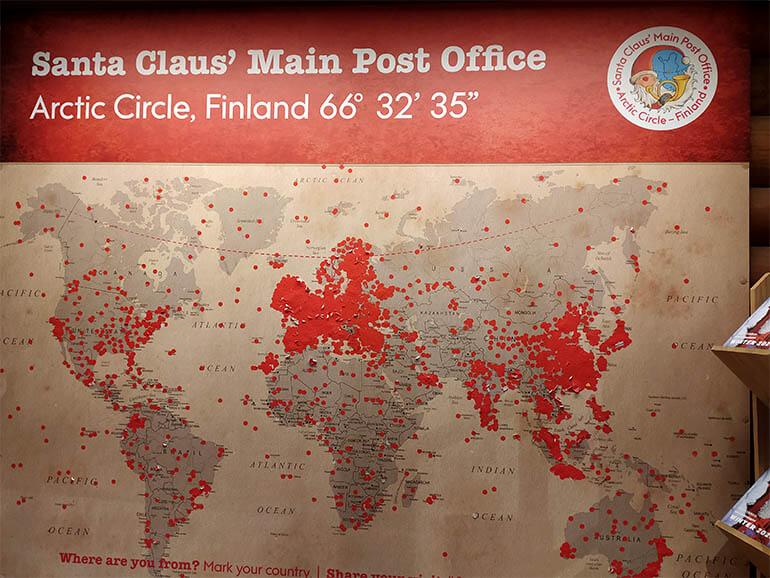 Oficina Postal de Papá Noel