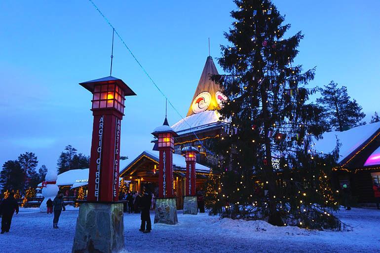 qué ver en el pueblo de Papá Noel