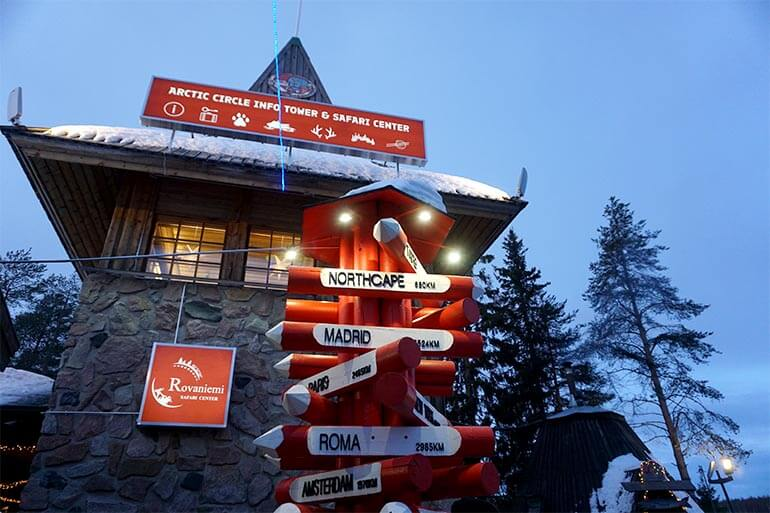 información Santa Claus Village Rovaniemi