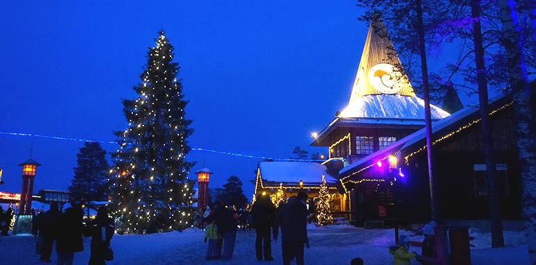 visitar Santa Claus Village Rovaniemi