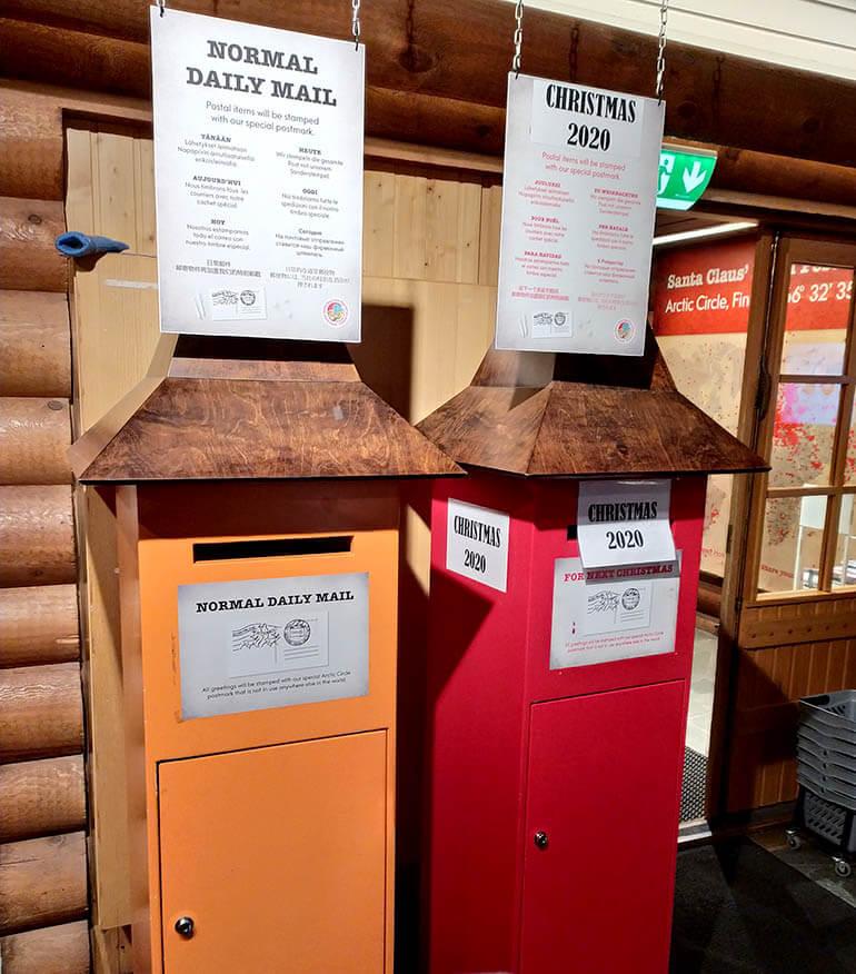 enviar una carta desde casa de Papá Noel Rovaniemi