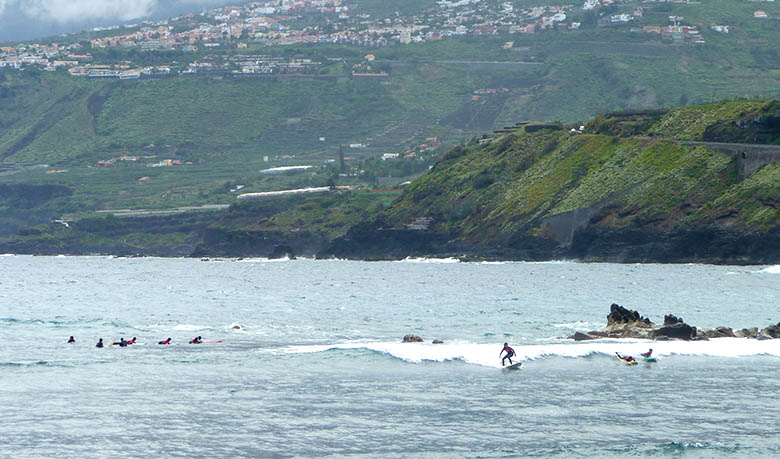 surf en Puerto de la Cruz