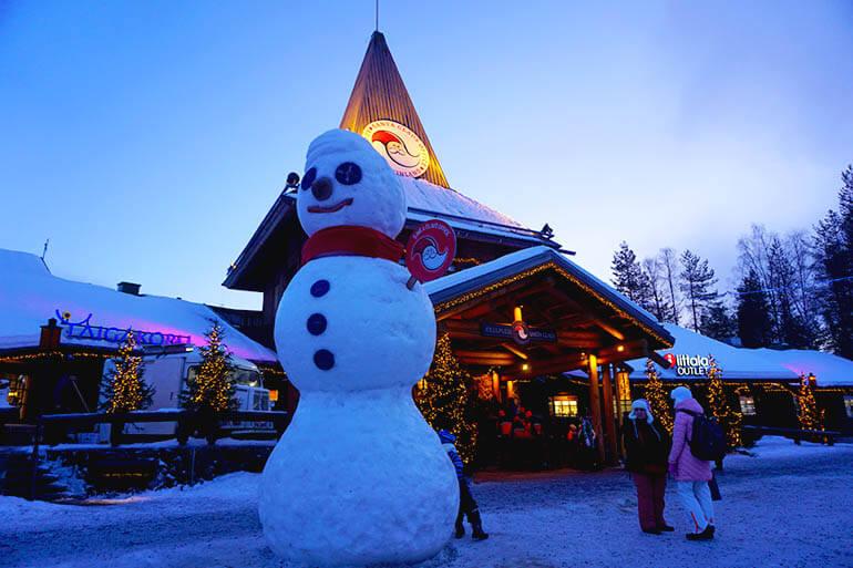 que ver en Rovaniemi con niños