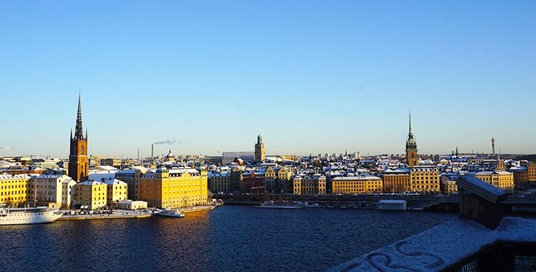 mejores vistas de Estocolmo