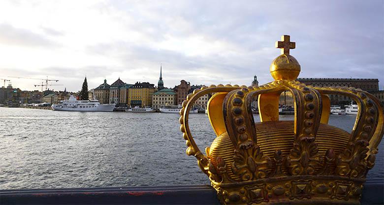 puente de la corona en Estocolmo