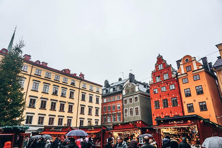 mercadillos de navidad en Estocolmo