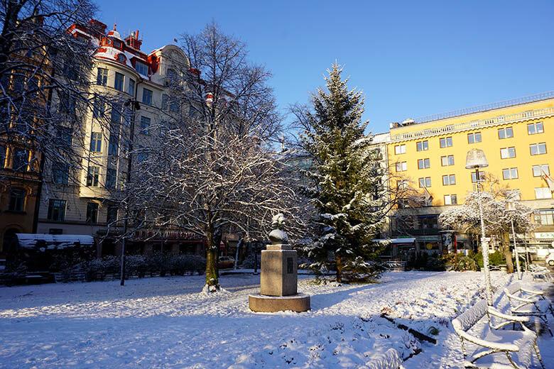 Estocolmo en invierno