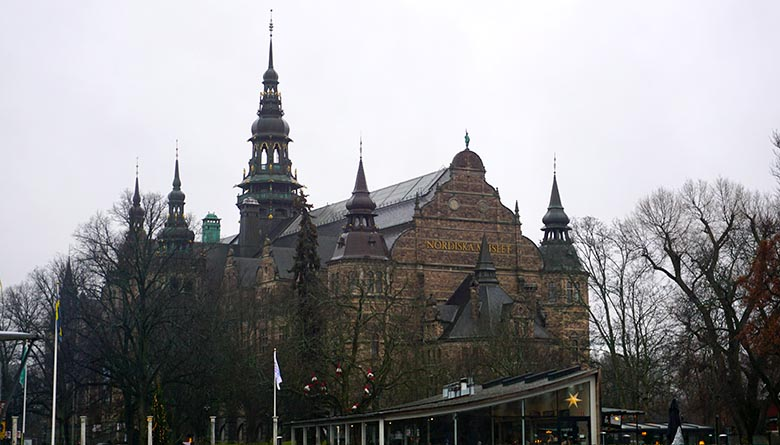 isla de los museos en Estocolmo
