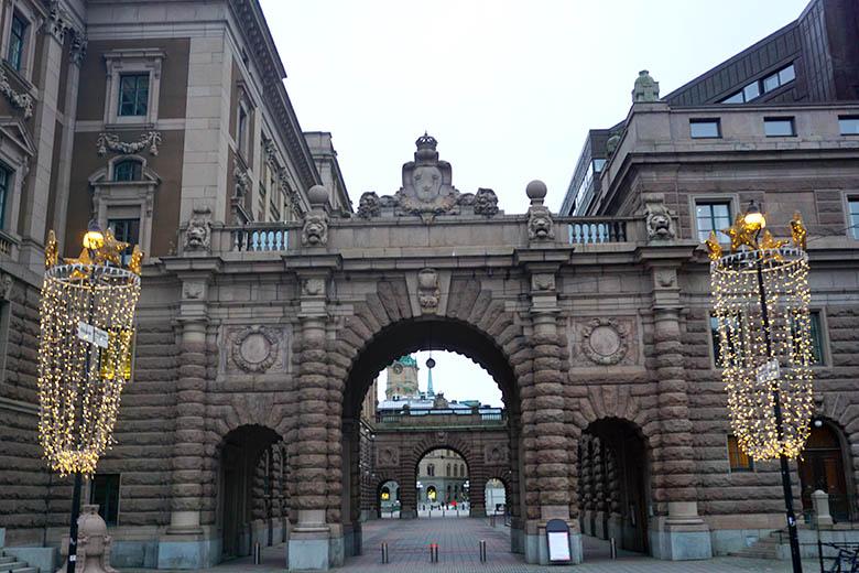 Palacio del Parlamento de Suecia
