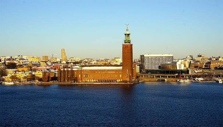 subir a la Torre del Ayuntamiento en Estocolmo