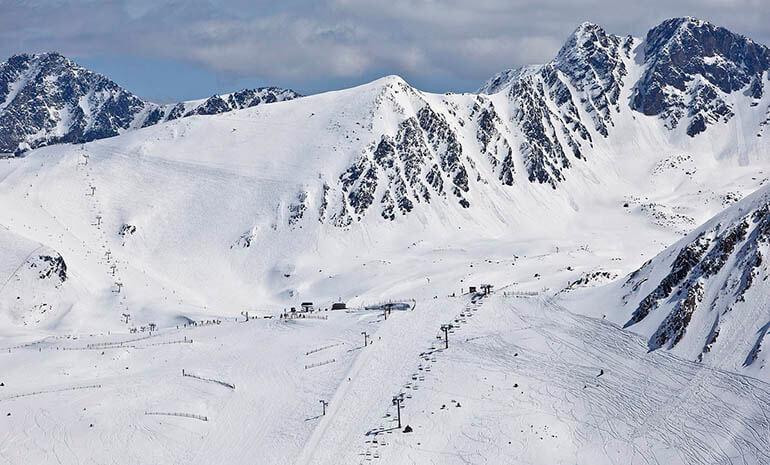 Estación de esquí Grandvalira Andorra