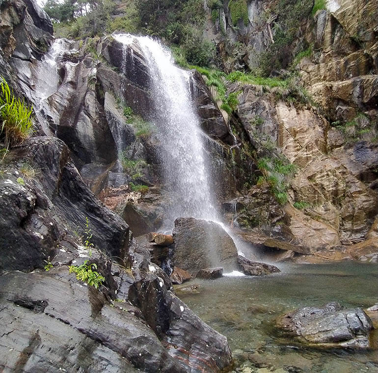 cascada El Salto Sallent de Gállego