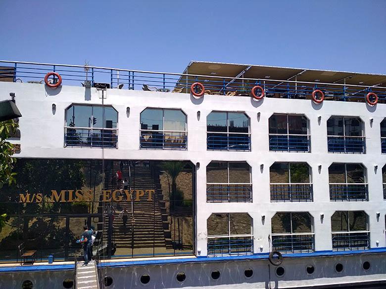 crucero miss egypt Nilo egipto