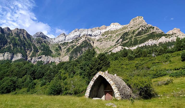 excursión al arco de Piedrafita Huesca