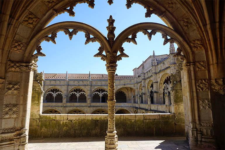Monasterio de los Jerónimos barrio de Belém