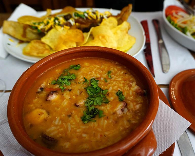 qué comer en Portugal