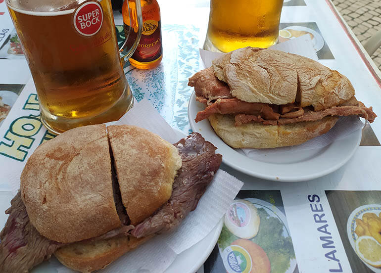 platos de Portugal