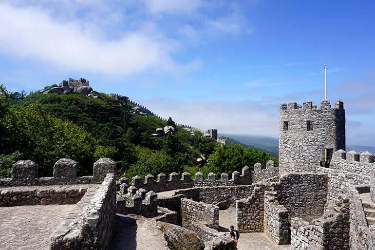 Castillo dos Mouros en Sintra