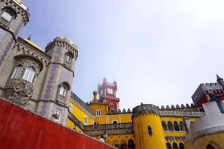 cómo ir al Palacio da Pena Sintra