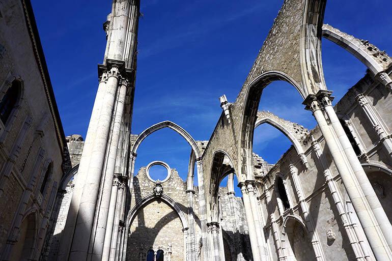 Convento do Carmo por dentro