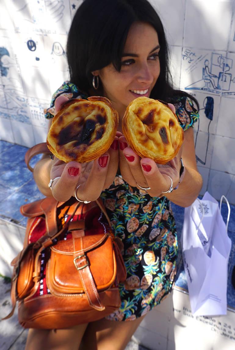 pasteles de Belém Lisboa