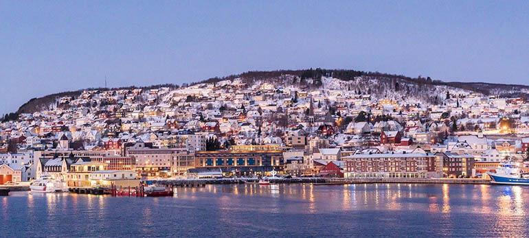 Viajar a Tromsø en invierno