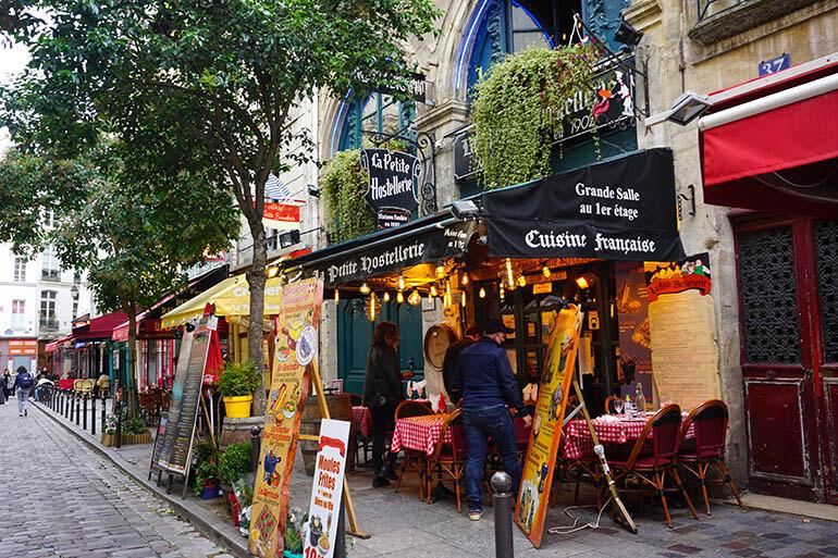 Calles del Barrio Latino París