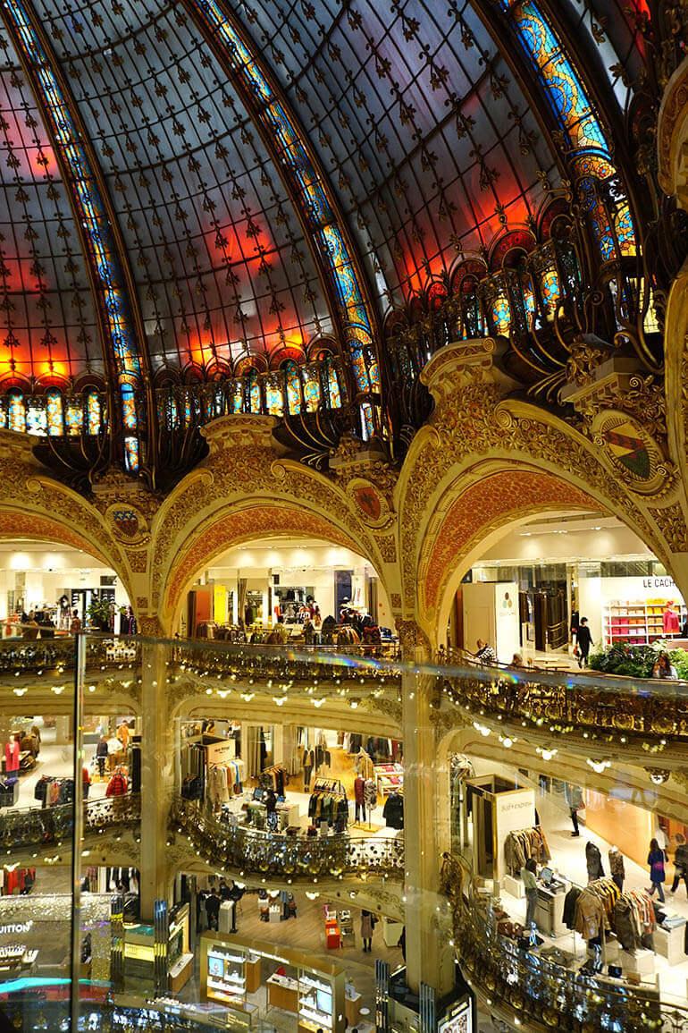 Galerías Lafayette compras por París