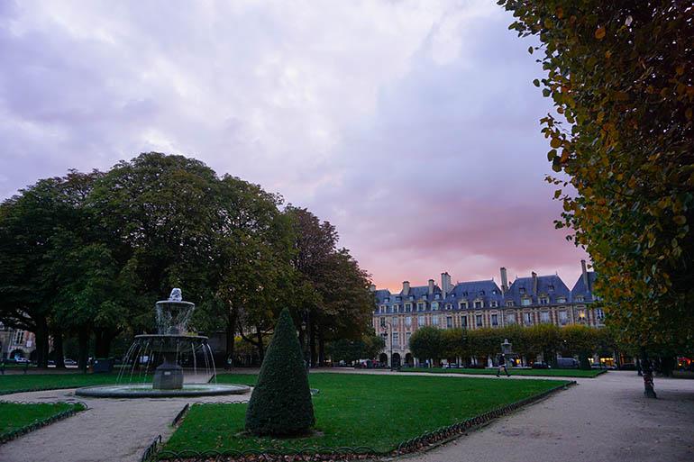 Barrio Le Marais París