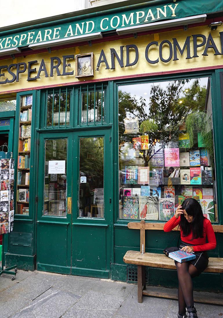 librerías más bonitas de París